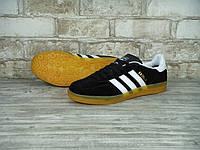 Мужские кроссовки Adidas Gazelle Indoor Black