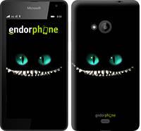 """Чехол на Microsoft Lumia 535 Чеширский кот """"689u-130"""""""