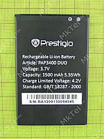 Аккумулятор Prestigio MultiPhone 3400 DUO 1500mAh Оригинал Китай