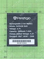 Аккумулятор Prestigio MultiPhone 5430 DUO 2000mAh Копия АА