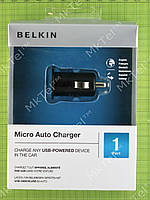 Зарядка Belkin 5W Micro Car Charger for Apple iPhone Оригинал элем.