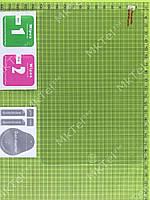 Защитное стекло Apple iPad mini Nano Slim Colorful 0.33mm 2.5D OEM