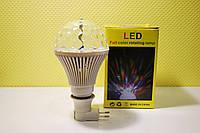 Вращающаяся светодиодная диско-лампа LED Full Color Rotating Lamp(Big) , фото 1