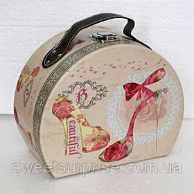 Подарочная коробка (сундучек)