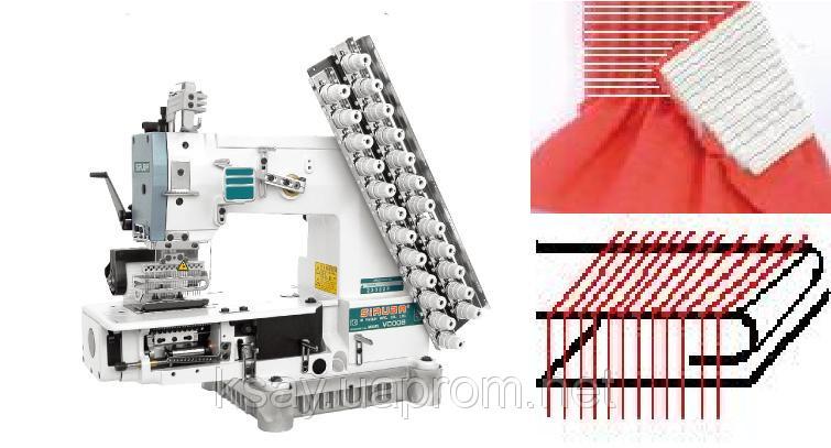 Промислова швейна машина Siruba VC008-12064P/VWLC/FH