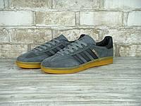 Мужские кроссовки Adidas Gazelle Indoor Gray