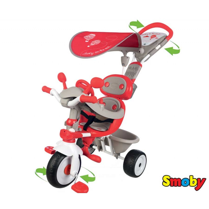 Велосипед триколісний Baby Driver Confort Mixte Smoby 434208
