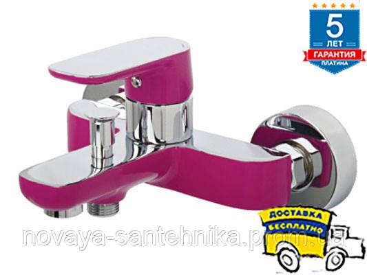 Смеситель для ванны Venezia-Kapadokya, пурпурный