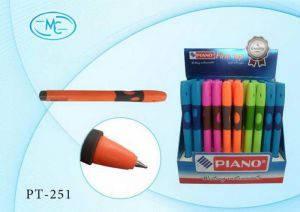 """Ручка шариковая """"Piano"""" синяя №251 для левшей, фото 2"""