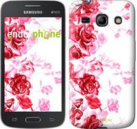 "Чехол на Samsung Galaxy Star Advance G350E Нарисованные розы ""724u-210"""