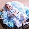 Одежда для крещения мальчика из новой коллекции Крестильная