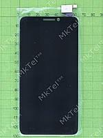 Дисплей Alcatel One Touch Idol 6030 с сенсором Оригинал элем. Черный