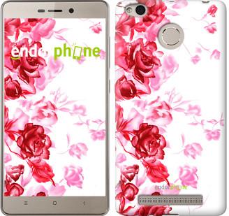 """Чехол на Xiaomi Redmi 3s Нарисованные розы """"724c-357"""""""