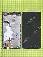 Дисплей FLY FS502 Cirrus 1 с сенсором, панелью Оригинал Б/У Черный