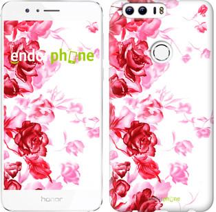 """Чехол на Huawei Honor 8 Нарисованные розы """"724u-351"""""""
