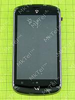Дисплей FLY IQ280 Tech с сенсором, панелью, элементами Оригинал Черный