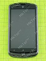 Дисплей FLY IQ280 Tech с сенсором, панелью, элементами Оригинал Синий