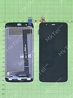 Дисплей FLY IQ4414 Evo Tech 3 с сенсором Оригинал Китай Черный