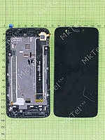 Дисплей FLY IQ4414 Evo Tech 3 с сенсором, панелью Оригинал Б/У Черный
