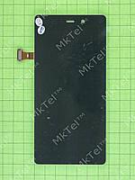 Дисплей FLY IQ453 Quad Luminor FHD с сенсором Копия Черный
