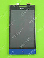 Дисплей HTC 8S Rio A620e с сенсором Оригинал элем. Голубой