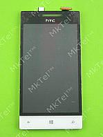 Дисплей HTC 8S Rio A620e с сенсором Оригинал элем. Белый