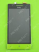 Дисплей HTC 8S Rio A620e с сенсором Оригинал элем. Желтый