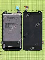Дисплей HTC Desire 310 с сенсором,129mm Оригинал элем. Черный