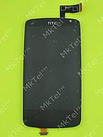Дисплей HTC Desire 500 с сенсором Оригинал элем. Черный
