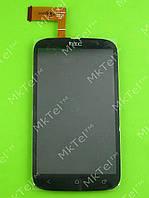 Дисплей HTC Desire V T328w с сенсором Оригинал элем. Черный
