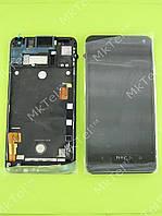 Дисплей HTC One M7 801e с сенсором, панелью Оригинал Китай Черный