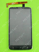 Дисплей HTC One X S720e с сенсором, черный self-welded