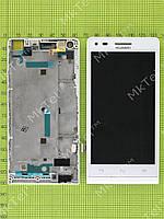 Дисплей Huawei Ascend G6 4G с сенсором, панелью Оригинал Китай Белый