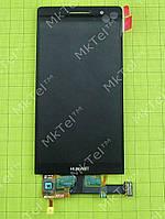 Дисплей Huawei Ascend P6 с сенсором Оригинал Китай Черный