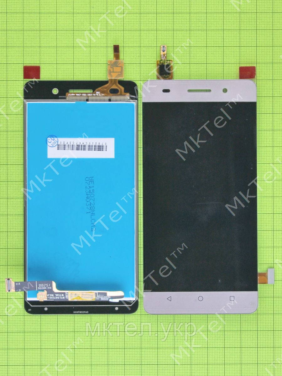 Дисплей Huawei Honor 4C с сенсором, золотистый self-welded
