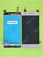 Дисплей Huawei Honor 4C с сенсором Оригинал элем. Золотистый