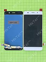 Дисплей Huawei Y6 с сенсором Оригинал элем. Белый