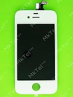 Дисплей iPhone 4G с сенсором, rev CDMA Оригинал элем. Белый