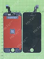 Дисплей iPhone 5C с сенсором Копия АА Черный