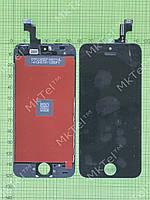 Дисплей iPhone 5S с сенсором Копия АА Черный