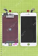 Дисплей iPhone 6 plus с сенсором, рамками датчик Оригинал Китай Белый