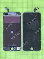 Дисплей iPhone 6 plus с сенсором, рамками датчиков Копия АА Черный