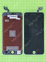 Дисплей iPhone 6 plus с сенсором, рамками датчиков Копия АА Белый