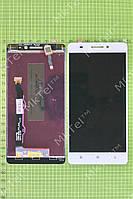Дисплей Lenovo A7000 с сенсором Оригинал элем. Белый