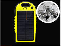 Портативная зарядка Power Bank 10000 mAh на солнечной батареи. Хорошее качество. Удобная батарея. Код: КДН1454