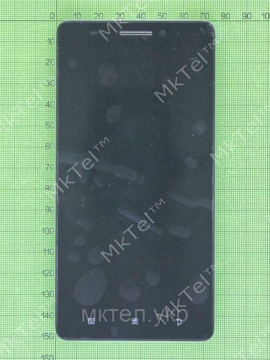 Дисплей Lenovo K3 Note с сенсором, панелью, черный self-welded