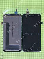 Дисплей Lenovo S580 с сенсором Оригинал элем. Черный
