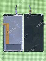 Дисплей Lenovo S898T с сенсором Оригинал элем. Черный