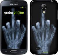 """Чехол на Samsung Galaxy S4 mini Рука через рентген """"1007c-32"""""""