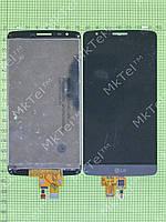 Дисплей LG G3 Stylus D690 с сенсором Оригинал элем. Черный
